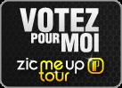 Votez pour Hubi au ZICMEUP TOUR 2013